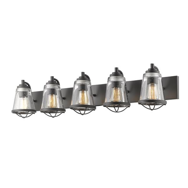 Z-Lite Mariner 5-Light Bronze Vanity