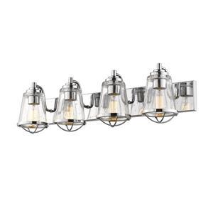 Applique pour salle de bain Mariner, 4 lumières, chrome