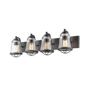 Applique pour salle de bain Mariner, 4 lumières, bronze