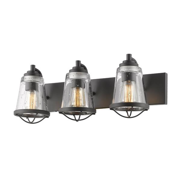Z-Lite Mariner 3-Light Bronze Vanity