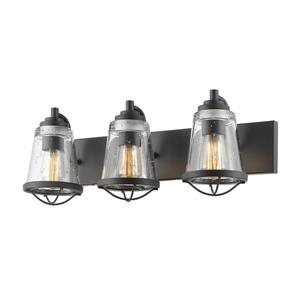 Applique pour salle de bain Mariner, 3 lumières, bronze