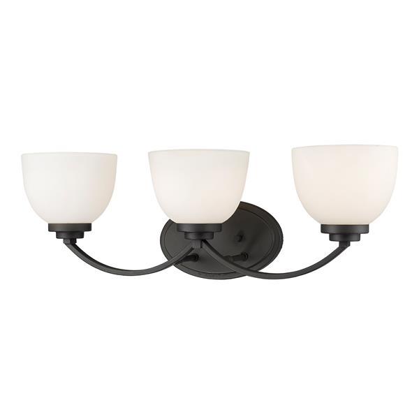 Z-Lite Ashton 3-Light Bronze Vanity Light