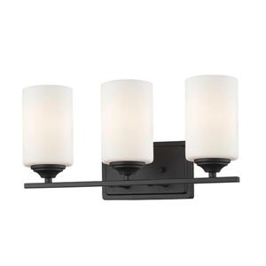 Z-Lite Bordeaux 3-Light Bronze Vanity Light