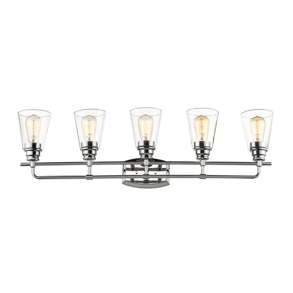 Z-Lite Annora 5-Light Chrome Vanity Light