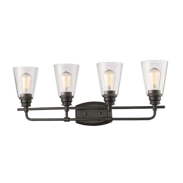 Z-Lite Annora 4-Light Olde Bronze Vanity Light