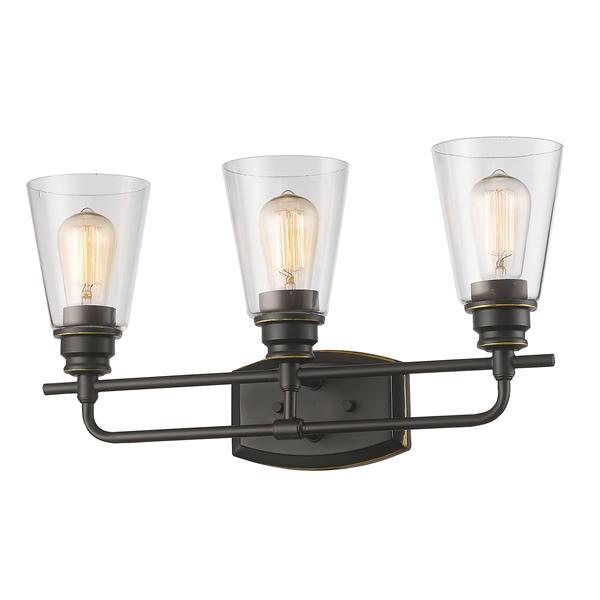 Z-Lite Annora 3-Light Olde Bronze Vanity Light