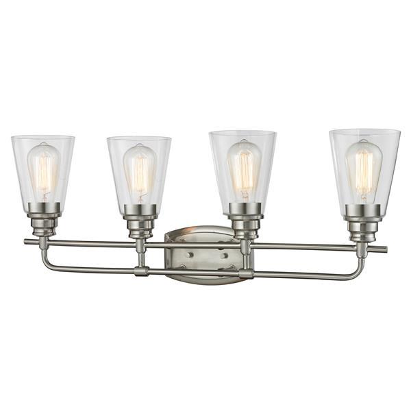 Z-Lite Annora 4-Light Brushed Nickel Vanity Light