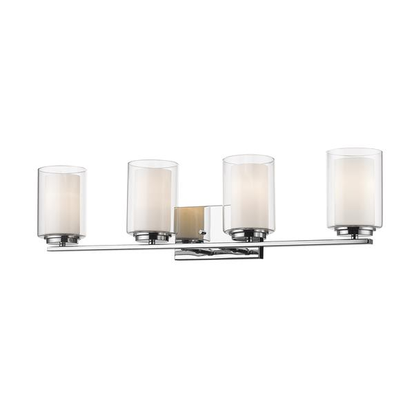 Z-Lite Willow Chrome 4 Light Vanity Light