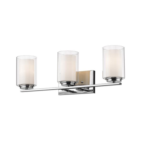 Z-Lite Willow Chrome 3 Light Vanity Light