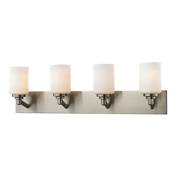 Z-Lite Montego 4-Light Brushed Nickel Vanity