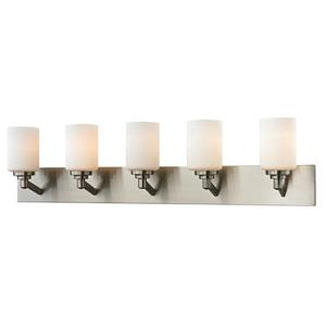 Z-Lite Montego 5-Light Brushed Nickel Vanity