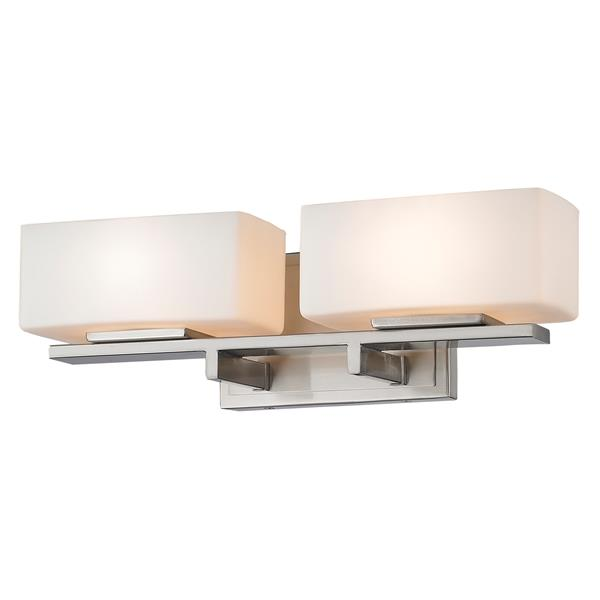 Z-Lite Kaleb Vanity Light - 2-Light - Brushed Nickel