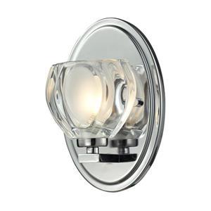 Applique pour salle de bain Hale, 1 lumière, chrome