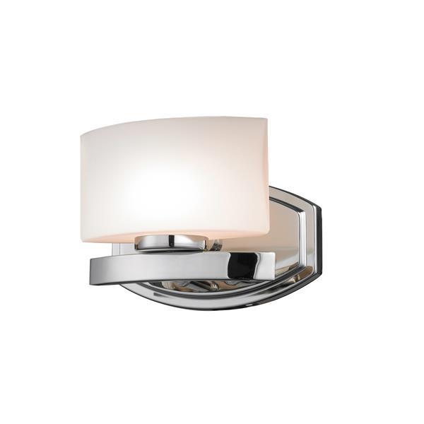 Z-Lite Galatia 1- Light Chrome Vanity Light