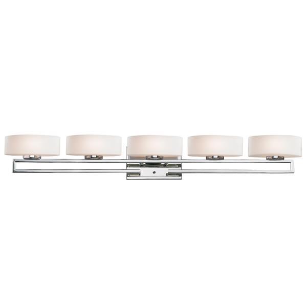 Z-Lite Cetynia Chrome 5 Light Bathroom Vanity Light
