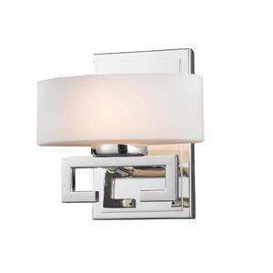 Z-Lite Cetynia Chrome 1 Light Bathroom Vanity Light