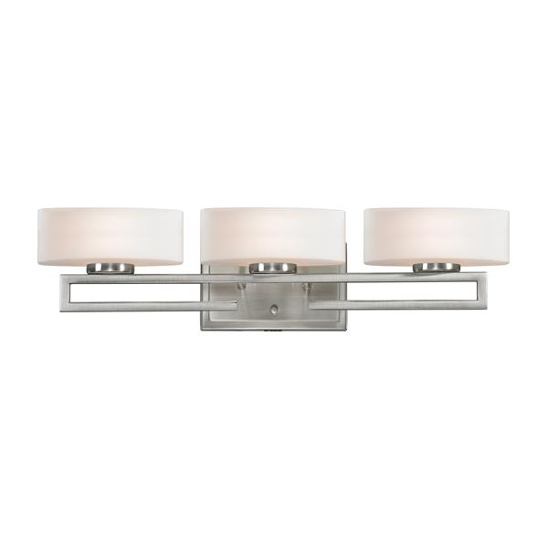 Z-Lite Cetynia LED Vanity Light - 3-Light - Brushed Nickel