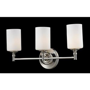 Z-Lite Cannondale 3-Light Chrome Vanity light