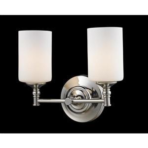 Applique pour salle de bain Cannondale, 2 lumières, chrome