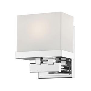 Applique pour salle de bain Rivulet, 1 lumière, chrome