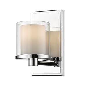 Applique pour salle de bain Schema, 1 lumière, chrome