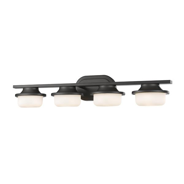 Z-Lite Optum Bronze 4-Light LED Vanity Light