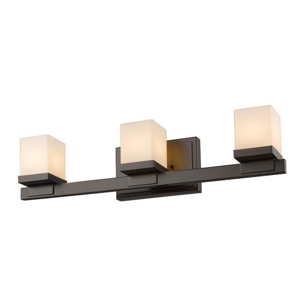 Applique pour salle de bain Cadiz, 3 lumières, bronze