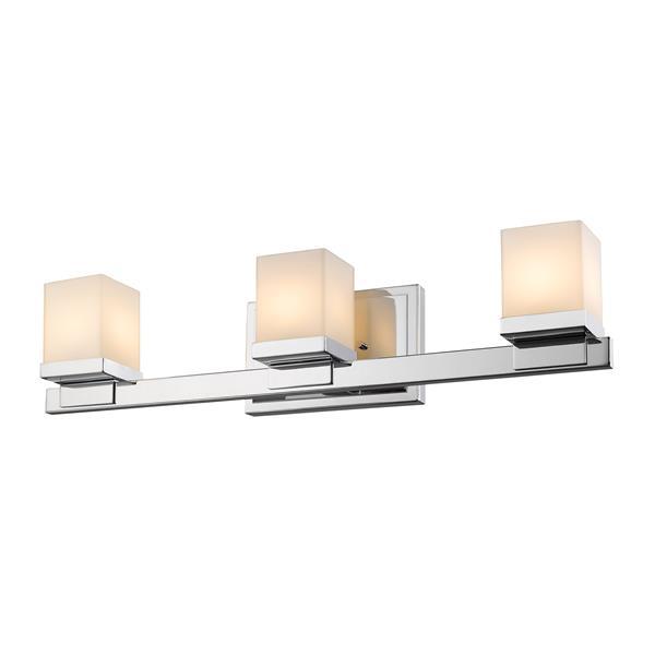Applique pour salle de bain Cadiz, 3 lumières, chrome