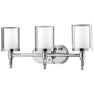 Applique pour salle de bain Argenta, 3 lumières, chrome