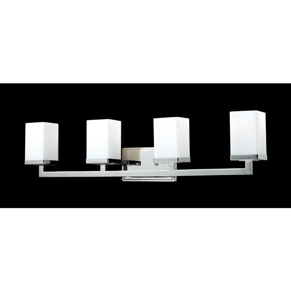 Z-Lite Tidal Chrome 4 Light Vanity Light