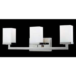 Z-Lite Tidal Chrome 3 Light Vanity Light