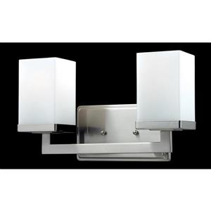 Z-Lite Tidal Brushed Nickel 2 Light Vanity Light