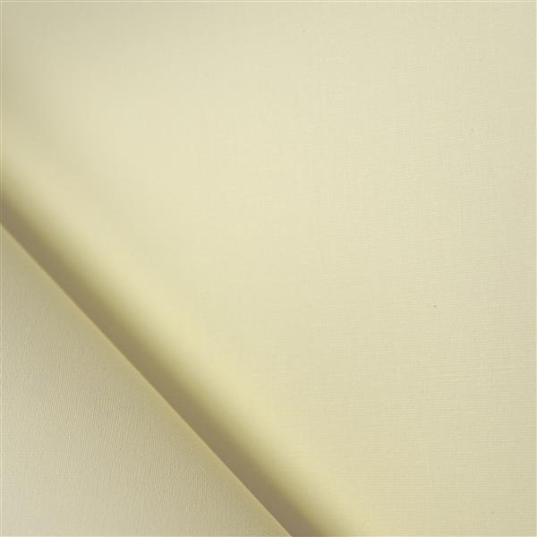 Sun Glow 76-in x 72-in Creamy Motorized Translucent Roller Shade