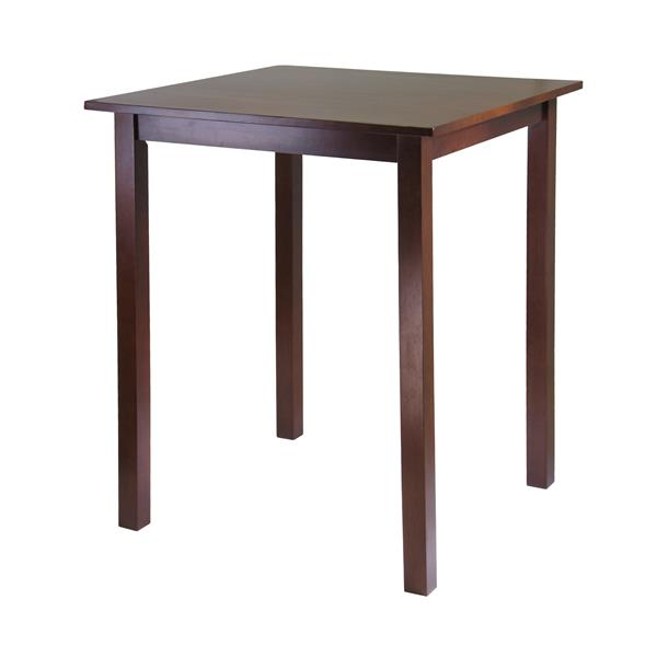 Winsome Wood Orlando 33.86-in x 38.98-in Wood Walnut Dining Table