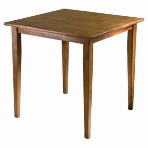 "Table à manger Groveland, 29,53"" x 29,13"", bois, chêne"