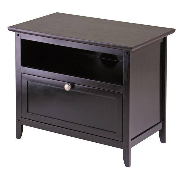 Winsome Wood Zara Espresso TV Stand