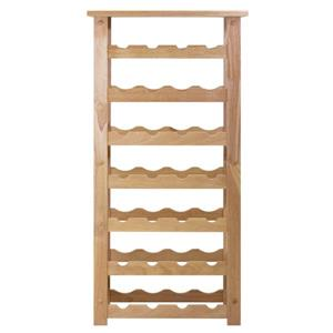 Winsome Wood Napa Wine Rack - 18.5-in x 37-in - Wood - Clear