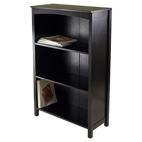 Winsome Wood Terrace 23 x 43-in Storage Shelf Dark Espresso
