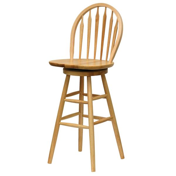 Winsome Wood Wagner Beech Wood Bar Stool  18-in x 29.05-in