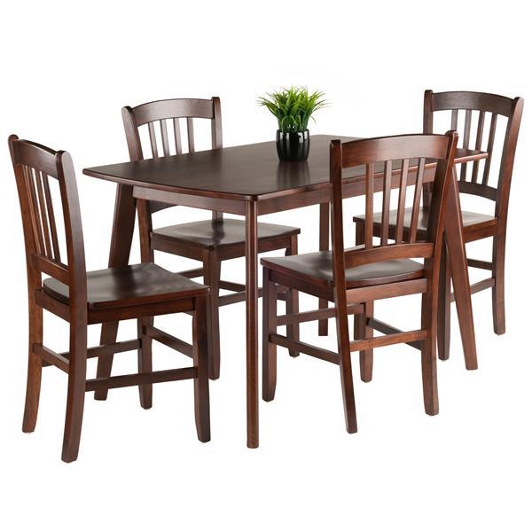 Winsome Wood Shaye 5 Piece Dining Set