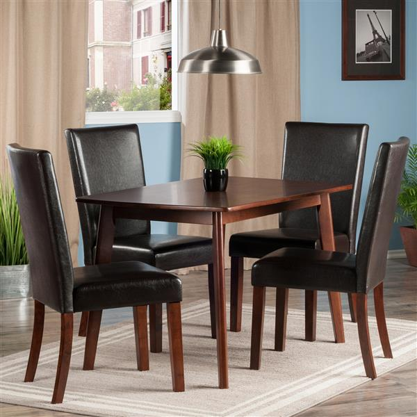 Winsome Wood Shaye 5 Piece Dining Set
