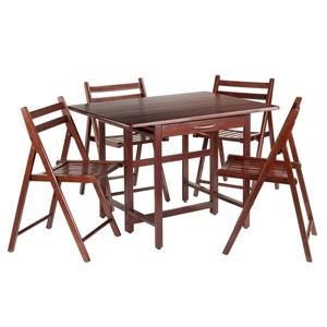 Winsome Wood Taylor 5 Piece Drop Leaf Dining Set