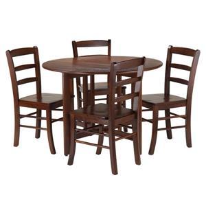 Ensemble de table à manger Alamo, 5 pièces, 4 chaises