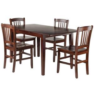 Ensemble de table à manger Anna, 5 pièces, 4 chaises