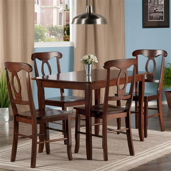 Winsome Wood Inglewood 5 Piece Dining Set