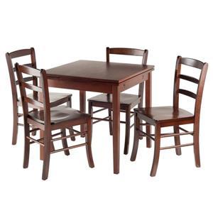 Ensemble Pulman, table à rallonges, 5 pièces, 4 chaises