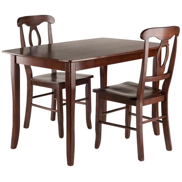 Winsome Wood Inglewood 3 Piece Dining Set
