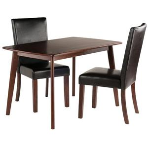 Winsome Wood Shaye 3 Piece Dining Set