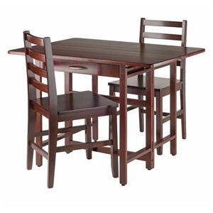 Winsome Wood Taylor 3 Piece Drop Leaf Dining Set