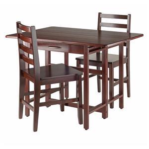 Table à abattants 3 pièces Taylor, 3 pièces, 2 chaises